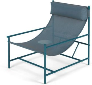 An Image of MADE Essentials Danta Garden Chair, Teal