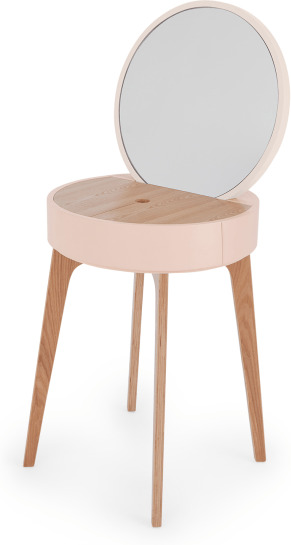 An Image of Cairn Dressing Table, Pink