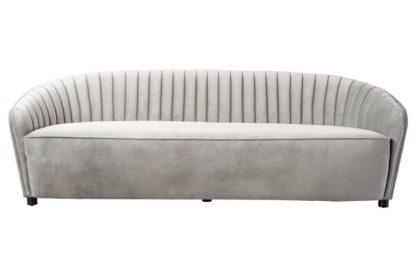 An Image of Alice Three Seat Sofa - Dove Grey