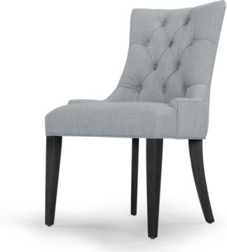 An Image of Flynn Scoop Back Chair, Persian Grey