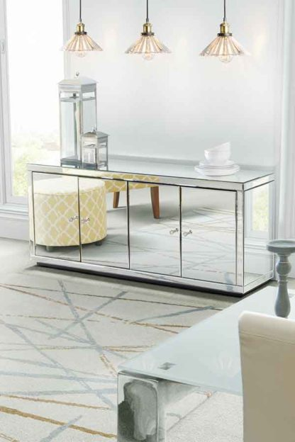 An Image of Chelsea Mirrored Sideboard