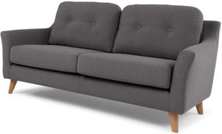 An Image of Rufus 2 Seater Sofa, Rhino Grey
