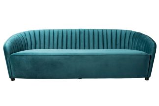 An Image of Alice Three Seat Sofa - Peacock