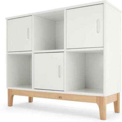 An Image of Linus Shelves, Pine and White