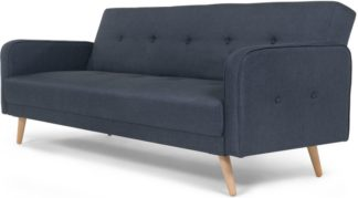 An Image of Chou Click Clack Sofa Bed, Quartz Blue