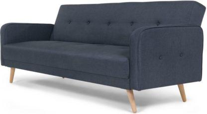 An Image of Chou Click Clack Sofa Bed, Quartz Blue