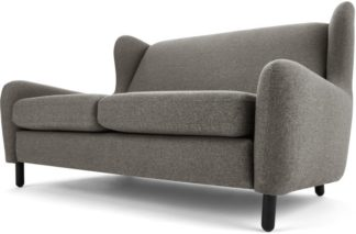 An Image of Rubens 2 Seater Sofa, Nickel Grey