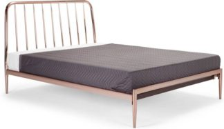 An Image of Alana Double Bed, Copper