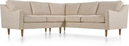 An Image of Dallas Corner Sofa, Amber Basketweave