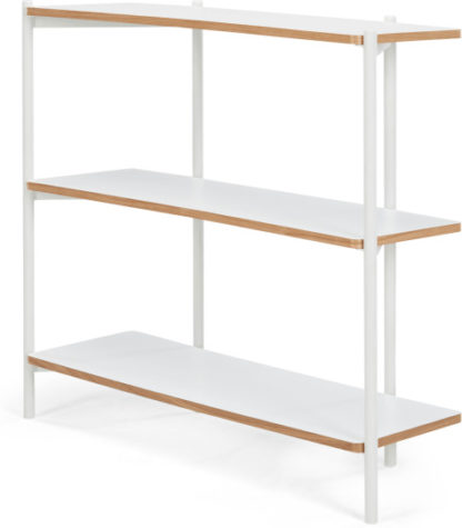 An Image of MADE Essentials Mino Wide Shelves, White