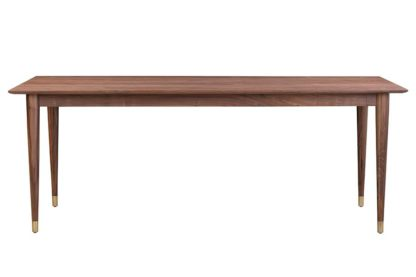An Image of Como Walnut Dining Table
