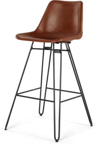 An Image of Kendal Barstool, Tan and Black
