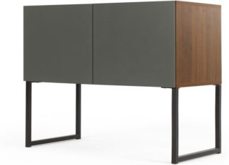 An Image of Hopkins Sideboard, Walnut and Grey