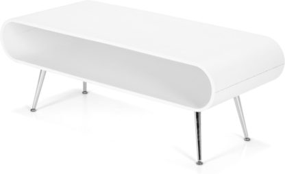 An Image of Hooper Storage Coffee Table, White