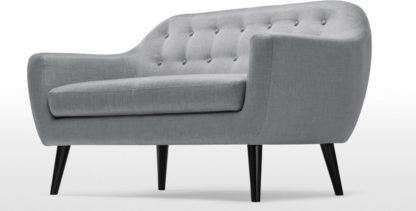 An Image of Ritchie 2 Seater Sofa, Pearl Grey