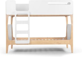 An Image of Linus Bunk Bed, Pine and White