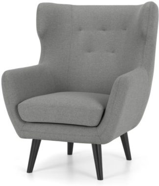 An Image of Hollis Armchair, Mountain Grey