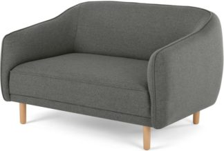 An Image of Haring 2 Seater Sofa, Cadet Dark Grey