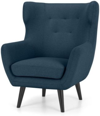 An Image of Hollis Armchair, Orleans Blue