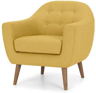 An Image of Ritchie Armchair, Orleans Yellow