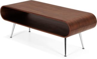 An Image of Hooper Storage Coffee Table, Walnut