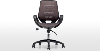 An Image of Buro Swivel Office Chair, Bronze