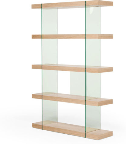 An Image of Esco Shelving Unit, Oak