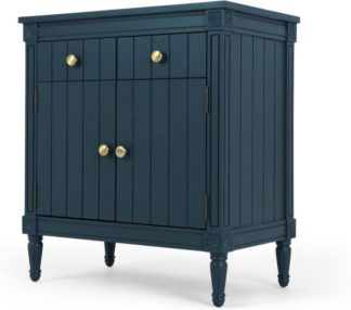 An Image of Bourbon Vintage Sideboard, Dark Blue