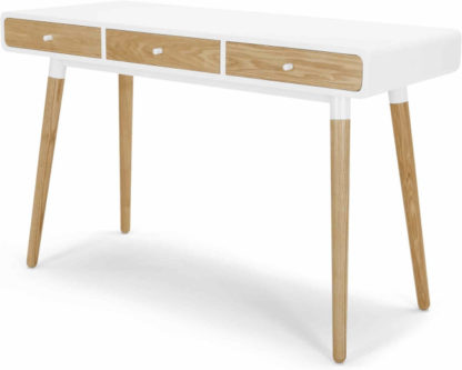 An Image of Edelweiss Desk, Ash and White