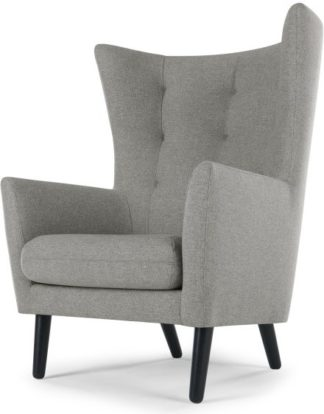 An Image of Dolton Accent Armchair, Mountain Grey