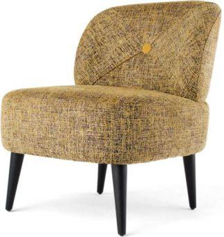 An Image of Jasper Accent Chair, Saffron Boucle
