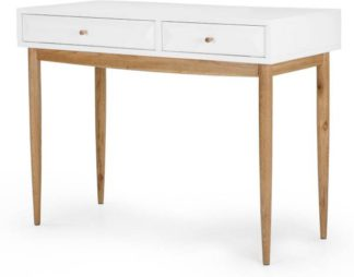 An Image of Willow Dressing Table, Oak and White