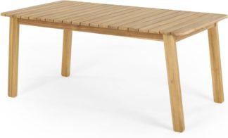 An Image of Jala Garden Dining Table, Acacia wood