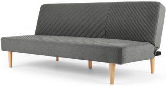 An Image of Ryson Click Clack Sofa Bed, Marl Grey