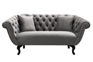 An Image of Ramona Two Seat Sofa - Dove Grey