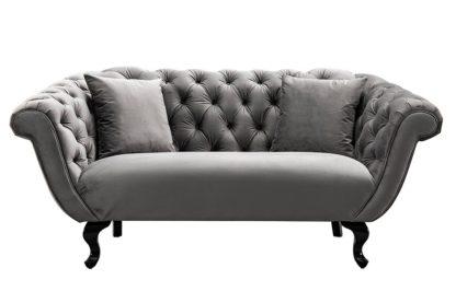 An Image of Ramona Two Seat Sofa - Dove Grey
