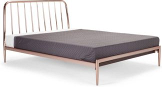 An Image of Alana Super Kingsize Bed, Copper