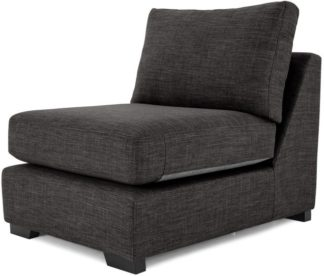 An Image of Mortimer Modular Chair, Seal Grey