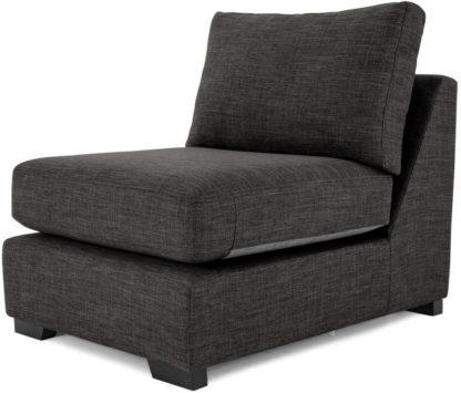 An Image of Mortimer Modular Chair, Seal Grey