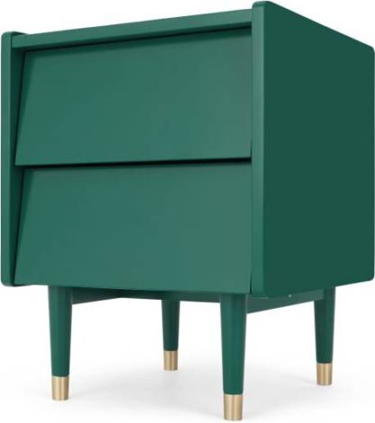 An Image of Hetty Bedside Table, Racing Green