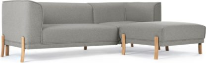 An Image of Magnus Right Hand Facing Corner Sofa Group, Mountain Grey