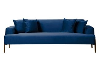 An Image of Duke Three Seat Sofa - Navy