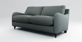 An Image of Custom MADE Sofia 2 Seater Sofa, Athena Dark Grey