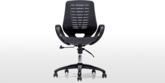An Image of Buro Swivel Office Chair, Black