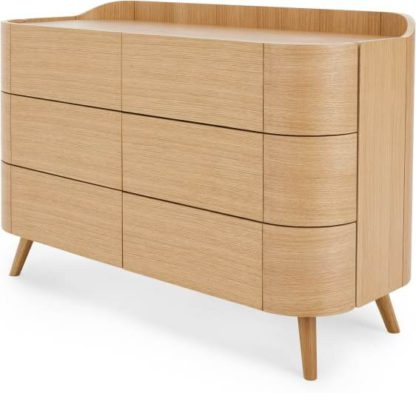 An Image of Ada Wide Chest of Drawers, Oak