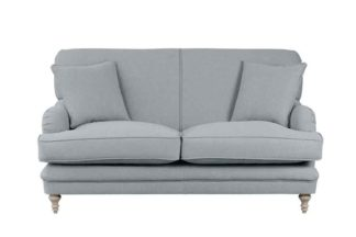 An Image of Madelein 2 seat sofa Malaga Steel