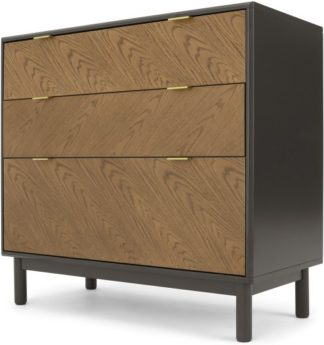 An Image of Belgrave Chest of Drawers, Dark Stained Oak
