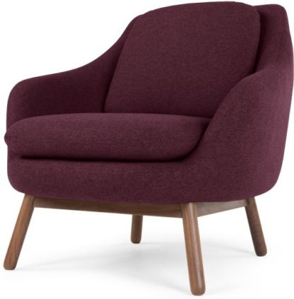 An Image of Oslo Accent Chair, Malbec