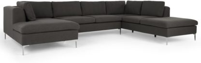 An Image of Monterosso Right Hand Facing Corner Sofa, Oyster Grey
