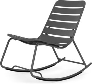 An Image of MADE Essentials Tice Rocker, Grey